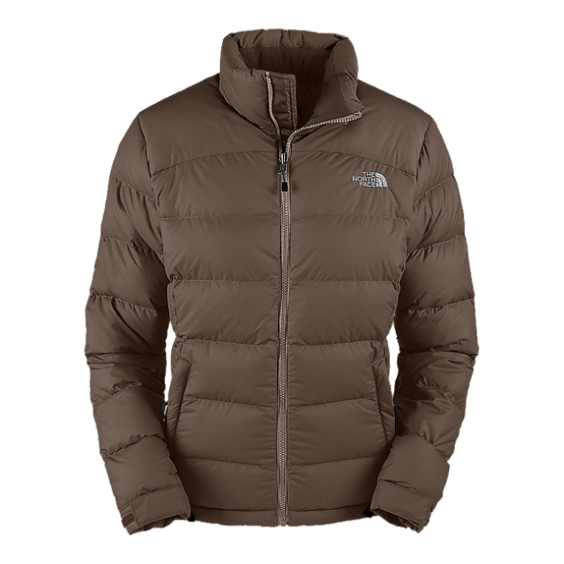 The North Face Women's Nuptse 2 Jacket - Weimaraner Brown
