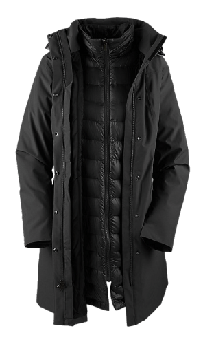 The North Face Women's Suzanne Triclimate Trench - TNF Black